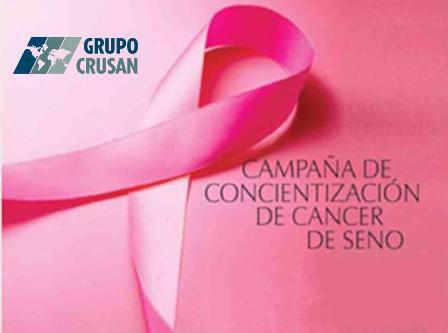 Campaña para concientizar sobre el Cancer de Seno